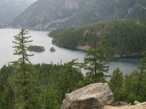 View in the Northern Cascades