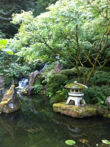From the Japanese Garden, Portland