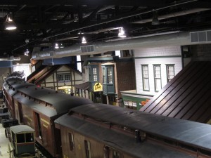 Train museum in Strasburg, PA - We like trains!