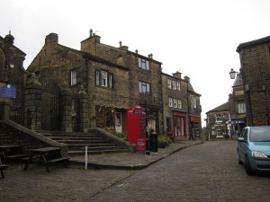 Beautiful downtown Haworth, Yorkshire